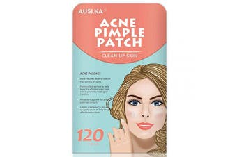 (120 PATCHES) - Acne Pimple Master Patch, Acne Spot Treatment, Hydrocolloid Acne Dots for Face (120 Patches)