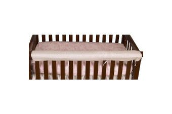 (Heaven Sent Girl) - Cotton Tale Heaven Sent Front Crib Rail Cover Up
