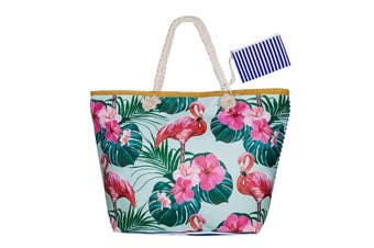 (Style 1) - Summer Oversized Waterproof Beach BagXXL,WolinTek Women Extra Large Holiday Beach Tote Bag Travel Shoulder Tote Bag Shopping Bag Oversized Carry Tote Bag with Zipper Closure