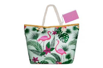 (Style 3) - Summer Oversized Waterproof Beach BagXXL,WolinTek Women Extra Large Holiday Beach Tote Bag Travel Shoulder Tote Bag Shopping Bag Oversized Carry Tote Bag with Zipper Closure