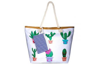 (Style 6) - Summer Oversized Waterproof Beach BagXXL,WolinTek Women Extra Large Holiday Beach Tote Bag Travel Shoulder Tote Bag Shopping Bag Oversized Carry Tote Bag with Zipper Closure