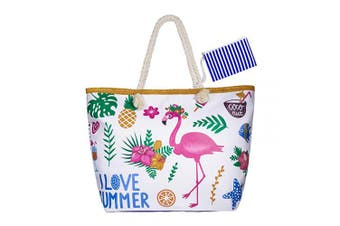 (Style 7) - Summer Oversized Waterproof Beach BagXXL,WolinTek Women Extra Large Holiday Beach Tote Bag Travel Shoulder Tote Bag Shopping Bag Oversized Carry Tote Bag with Zipper Closure