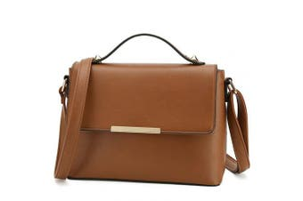 (Brown) - Designer Cross Body Bag for Women Ladies Shoulder Bag Stylish Handbags for Women