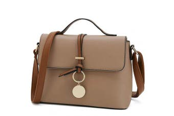 (Khaki) - Stylish Cross Body Purses for Women Fashion Shoulder Bag Ladies Designer Handbag