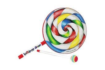 """(6"""" Drum) - Remo Kids Percussion Lollipop Drum - 15cm Diameter"""