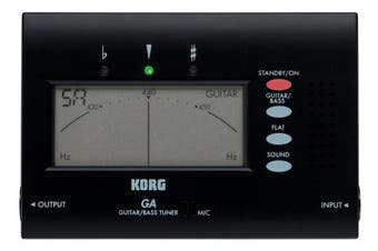 (GA-40 Guitar/Bass Tuner) - Korg GA-40 Large Display Guitar and Bass Tuner