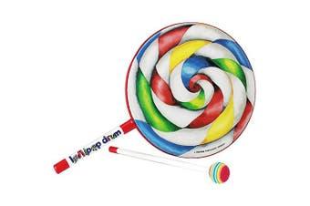 """(8"""" Drum) - Remo Kids Percussion, Lollipop Drum -  20cm Diameter"""