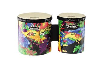 (Bongo Drum) - Remo Kids Percussion - Bongos, 13cm /15cm