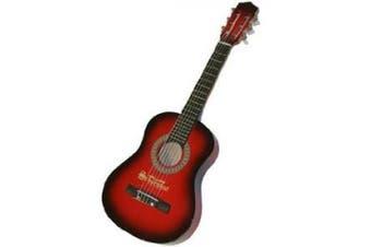(Red/Black) - Schoenhut Acoustic Guitar (Red/ Black)