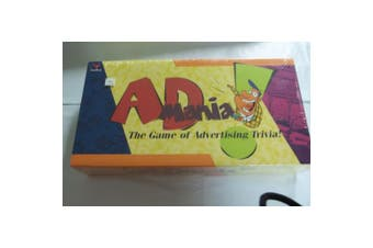 AdMania (The Game of Advertising Trivia)