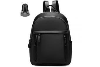 (Black) - Myhozee Women Backpack Rucksack Multi-Pocket, Waterproof Fashion Backpacks Purse Nylon Lightweight School Shoulder Bag Travel Bag Daypack for Girls Ladies (Black)