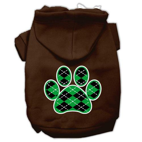 Argyle Paw Green Screen Print Pet Hoodies Brown Size XL (16) A poly/cotton sleeved hoodie for cold weather days, double stitched in all the right places for comfort and durability!Product Summary : New Pet Products/Screen Print Hoodies/Argyle Paw Green Screen Print Pet Hoodies@Pet Apparel/Dog Hoodies/Screen Print Hoodies/Argyle Paw Green Screen Print Pet Hoodies@Pet Apparel/Dog Hoodies/Screen Print Hoodies COPY/Argyle Paw Green Screen Print Pet Hoodies A poly/cotton sleeved hoodie for cold weather days, double stitched in all the right places for comfort and durability! Product Summary : New Pet Products/Screen Print Hoodies/Argyle Paw Green Screen Print Pet Hoodies@Pet Apparel/Dog Hoodies/Screen Print Hoodies/Argyle Paw Green Screen Print Pet Hoodies@Pet Apparel/Dog Hoodies/Screen Print Hoodies COPY/Argyle Paw Green Screen Print Pet Hoodies