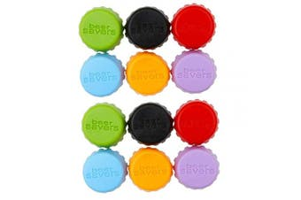 yyuezhi Bottle Cap Eco Friendly Silicone Plug Reusable 12 Piece Silicone Cap Beer Caps Wine and Juice Cap for Beer and Soda Bottle Cap Colour