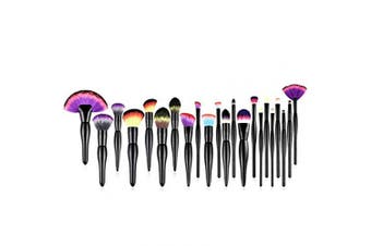 Deals Midnight Rainbow Makeup Brush Set