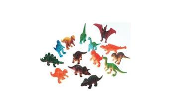 (dinosaurs) - Creatures Inc Plastic Creatures: Dinosaurs 14/Pkg
