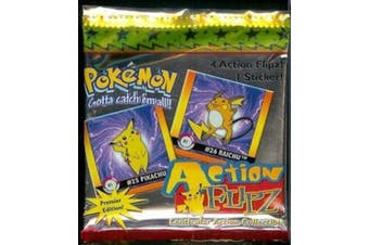 Pokemon Lenticular Action Flipz Premier Edition