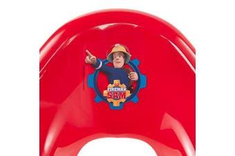 (Fireman Sam) - Keeeper EWA Fireman Sam 1081940120300 Children's Toilet Seat with Non-Slip Function Red