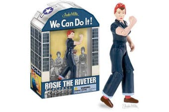 Rosie the Riveter Action Figure We Can Do It