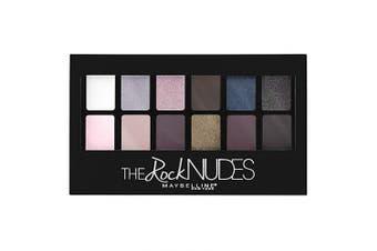 Maybelline New York The Rock Nudes Palette, The Rock Nudes, 10ml