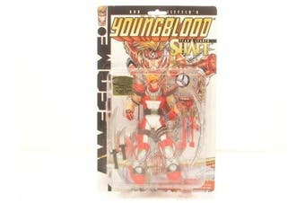 Youngblood Team Leader Shaft Action Figure NEW