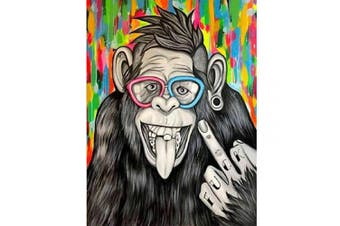 (30*40, Orangutan) - Diamond Painting Kits for Adults Kids, 5D DIY Animal Diamond Orangutan Art Accessories with Round Full Drill Dotz for Home Wall Decor - 11.8×40cm
