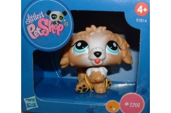 Littlest Pet Shop - Exclusive Limited Edition Figure - Labradoodle #1701