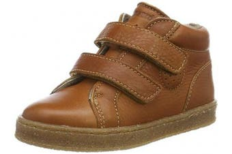 (7.5 UK, Brown (Cognac 500)) - Bisgaard Unisex Babies' Sinus Low-Top Sneakers