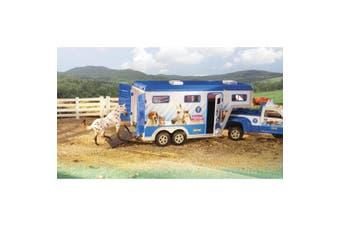 Breyer Animal Rescue Truck and Trailer