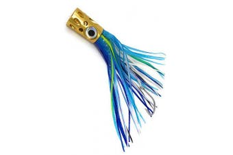 (blue mixed) - Capt Jay Fishing Offshore Big Game Trolling Lure for Marlin Tuna Mahi Wahoo Trolling Lures (Golden Monster-Length 34cm - Random Colour)
