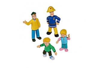 Simba 109251064 Fireman Sam Collectable Figures Series 1 4 Figures