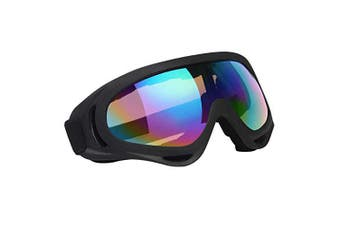 (1 PCS) - Vicloon Unisex Snow Goggles Windproof 100% UV Protection,Cycling Motorcycle Snowmobile Ski Goggles, Outdoor Sports Ski Glasses