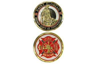 St. Florian Challenge Coin