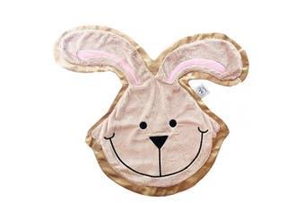 Happy Blankie Premium Heirloom Comfort Blanket for Kids ~ Hop The Bunny (Small)