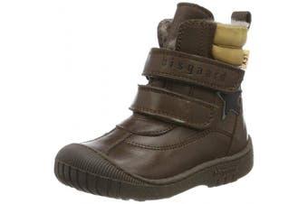 (10 UK, Brown (Brown 302)) - Bisgaard Unisex Kids' Elix Snow Boots