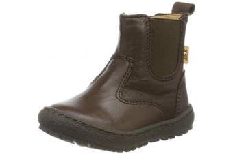 (4 UK, Brown (Brown 302)) - Bisgaard Unisex Kids' Ebba Chelsea Boots