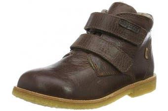 (7 UK, Brown (Brown 306)) - Bisgaard Unisex Kids' Egon Classic Boots