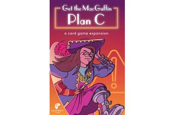 Looney Labs Plan C Expansion for Get The Macguffin Card Game