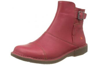 (4 UK, Red (Carmin Carmin)) - Art Women's 0917 Grass Carmin/Bergen Ankle Boots