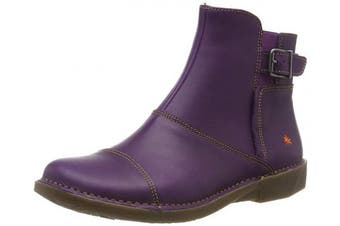 (4 UK, Purple (Purple Purple)) - Art Women's 0917 Grass Purple/Bergen Ankle Boots