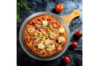 (30cm ) - Pizza Pan 30cm , Beasea Aluminium Alloy Round Pizza Tray Pizza Crisper Pan Pizza Baking Tray Bakeware for Home Restaurant Kitchen