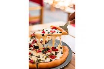 (25cm ) - Pizza Pan 25cm , Beasea Aluminium Alloy Round Pizza Tray Pizza Crisper Pan Pizza Baking Tray Bakeware for Home Restaurant Kitchen