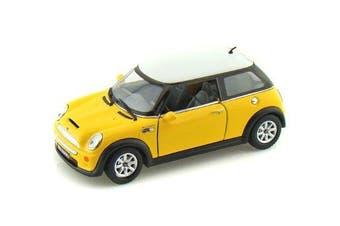 (Yellow) - Mini Cooper S 1/28 Yellow