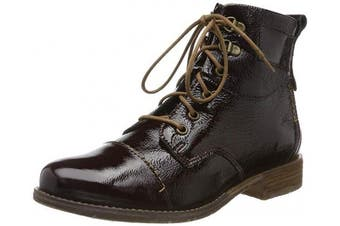 (10 UK, Red (Oxblood Mi65 440)) - Josef Seibel Sienna 17, Women's Ankle Boots