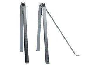König SAT-MWM 181.7lanised Steel Wall Bracket Set with Mast 48 cm