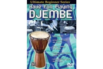 Ultimate Beginner Series: Have Fun Playing Hand Drums: Djembe - DVD