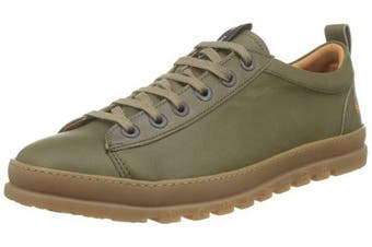 (4 UK, Green (Kaki Kaki)) - Art Unisex Adults' 1521 Grass Kaki/Mainz Brogues