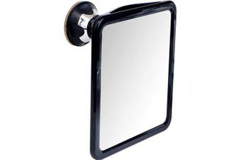 2019 Shatterproof Fogless Shower Mirror for Shaving with Sticky Suction Technology, 20cm x 18cm