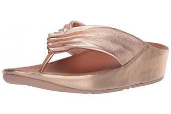 (7 UK, Pink (Rose Gold 323)) - Fitflop Women's Twiss Open Toe Sandals
