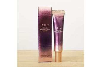 AHC Ultimate Real Eye Cream For Face (Season 7) 30 ml.Reduce swelling of bags under the eyes Smooth skin Eliminate small wrinkles