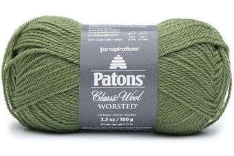(Meadow) - Patons 24407777760 Classic Wool Yarn, Meadow
